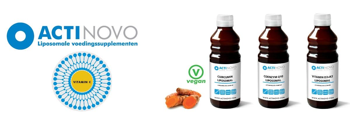 Actinovo liposomale vitaminen en kruiden