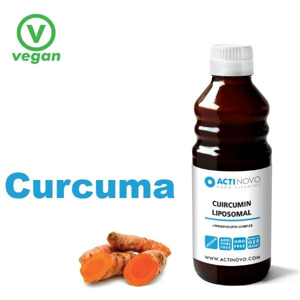 Liposomaal Kurkuma 250 ml ALC