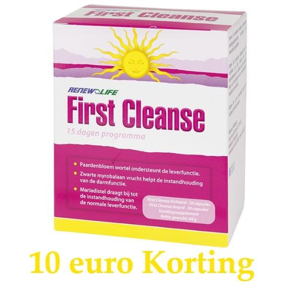First CLEANSE milde detox kuur