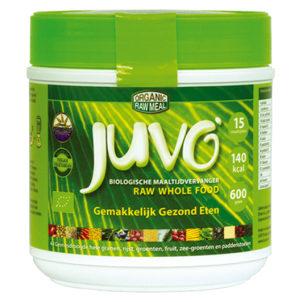 Juvo raw whole food biologische maaltijdvervanger