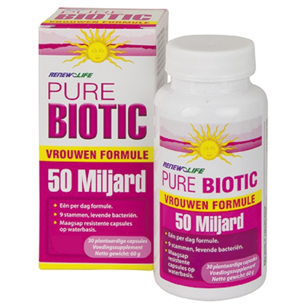 Vrouwen Probiotica 50 miljard