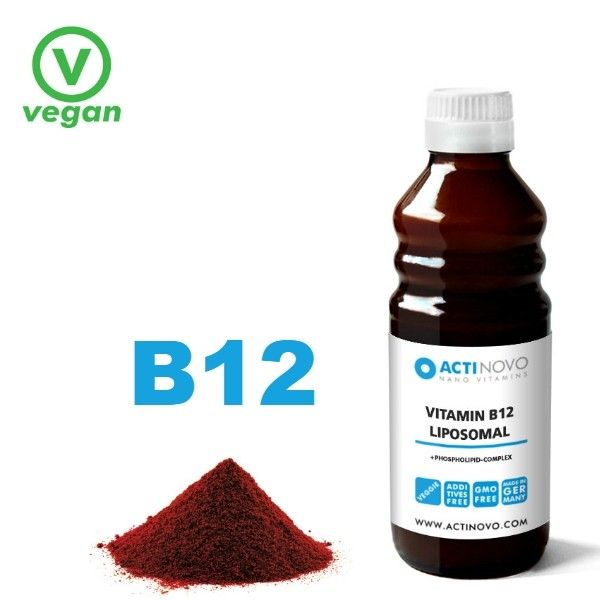 Liposomale Vitamine B12  250 ml