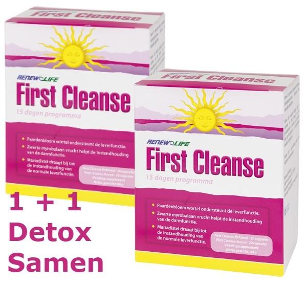 Detox Samen FirstCleanse 1 + 1