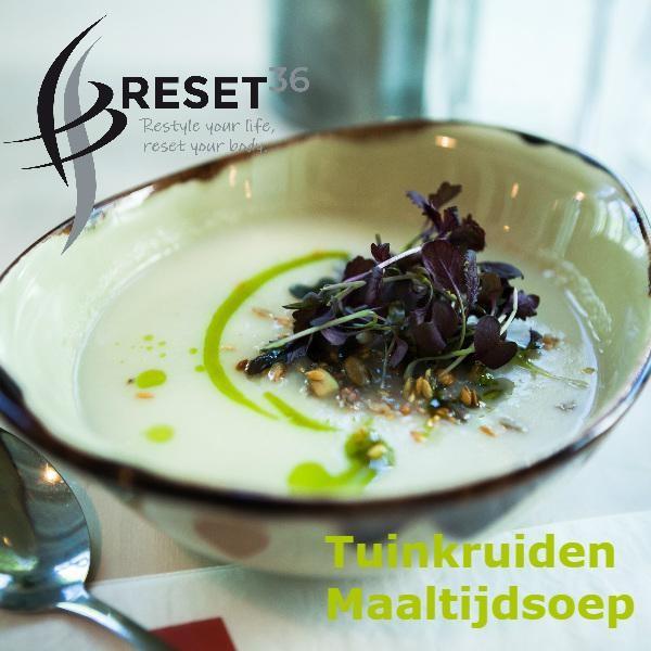 RESET36 Tuinkruiden maaltijd-soep