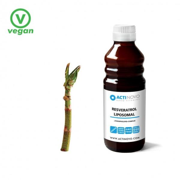 Liposomaal Resveratrol - Pterostilbene