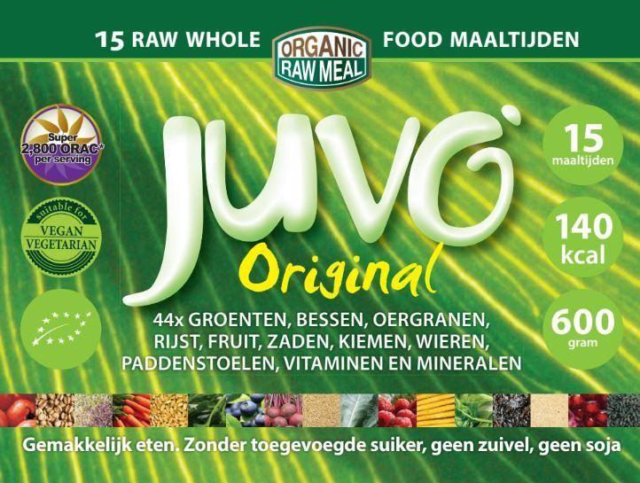 Label Juvo raw whole food