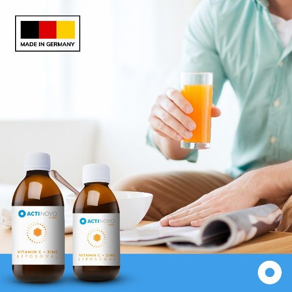 Liposomaal vitamine C met Zink