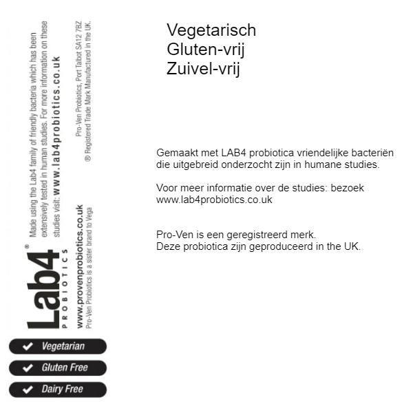 LAB4 probiotica 50+