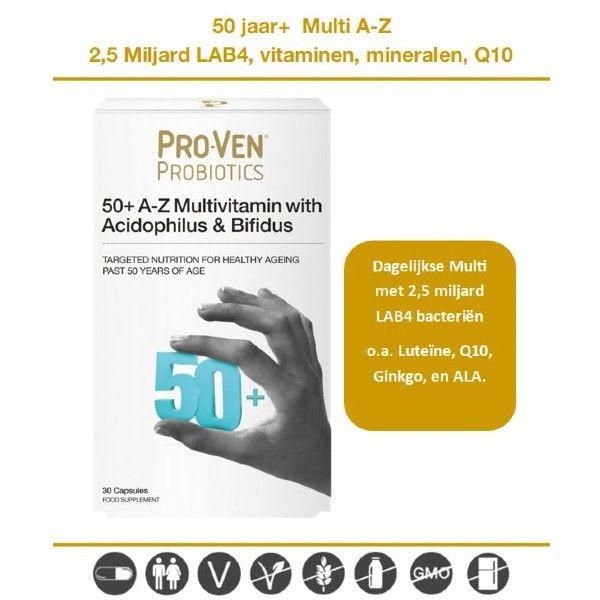 ProVen multivitaminen + Probiotica 50+