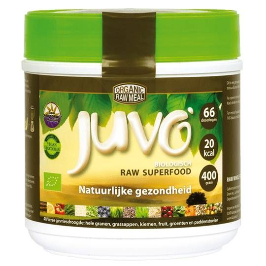 Juvo raw superfood voedingssupplement
