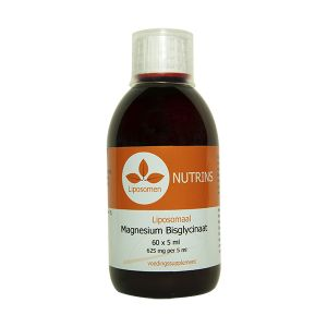 Nutrins vloeibaar liposomaal magnesium bisglycinaat 60 x 625 mg