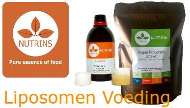 Liposomale vitaminen, mineralen en proteïnen