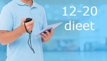 afvallen 12-20 dieet