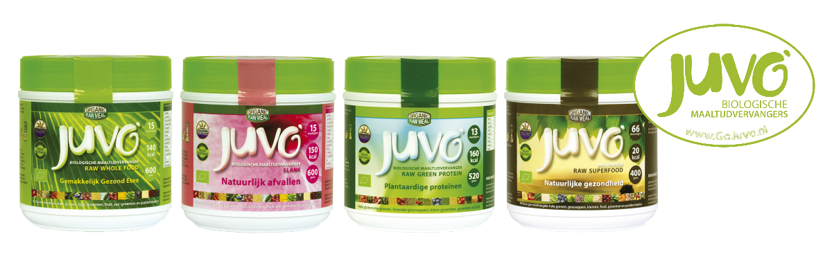 Juvo raw whole food maaltijdvervangers