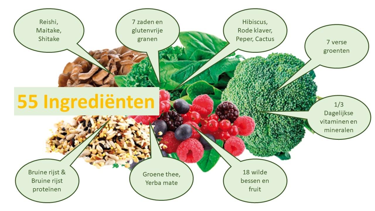 detox-slank juvo slim maaltijdvervanger samenstelling
