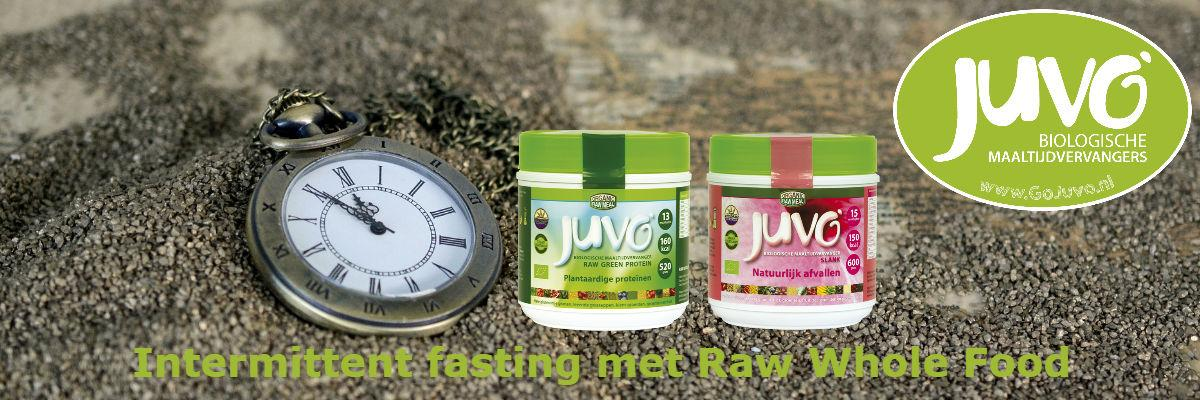 intermittent fasting met raw whole food