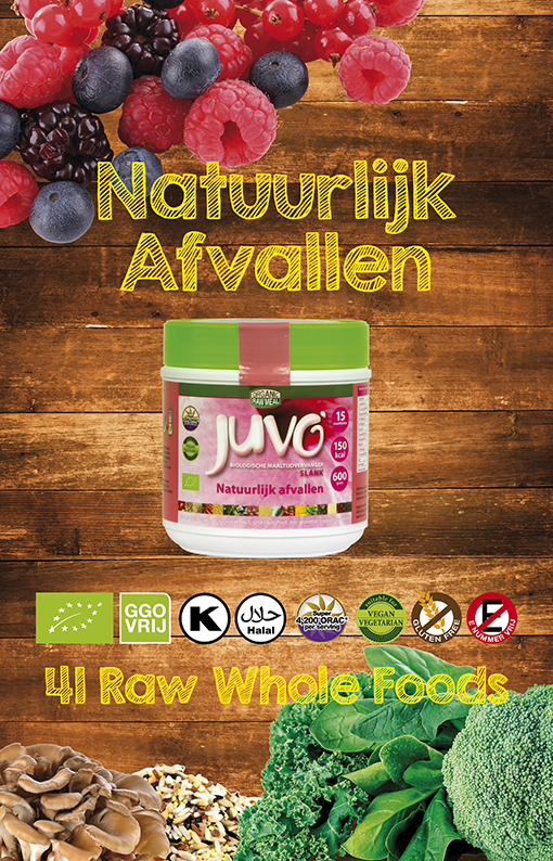 Juvo slim raw whole food juvo slank maaltijdvervanger afbeelding