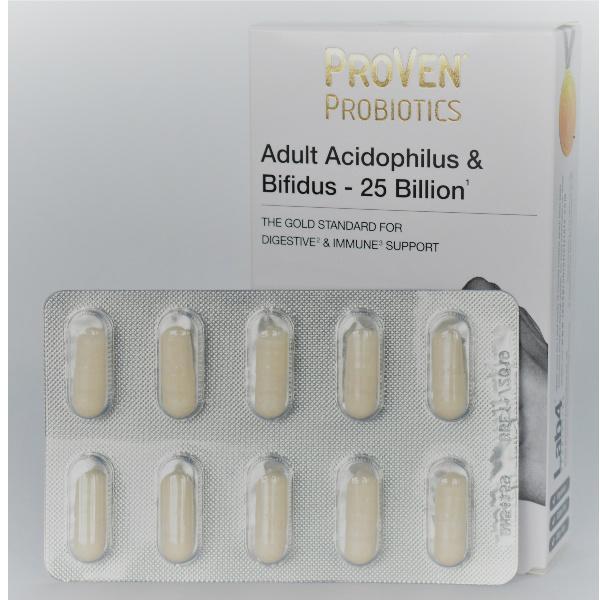 acidophilus bifidum 25 miljard per capsule Pro-Ven probiotica