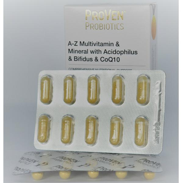 multivitaminen met probiotica en Q10