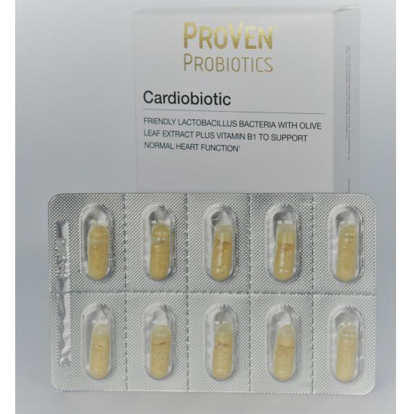 cardiobiotic probiotica hartfunctie cholesterol