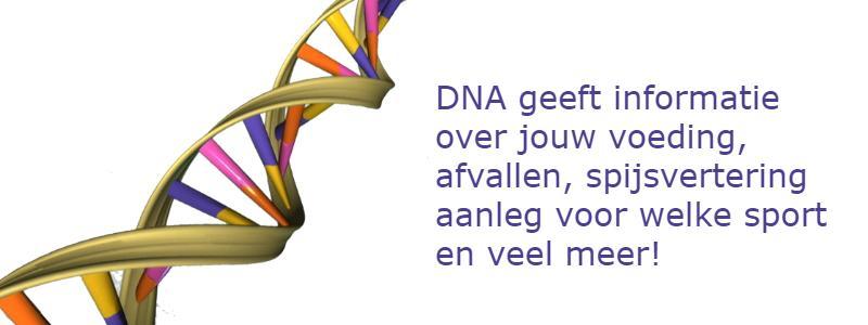 DNA onderzoek afvallen