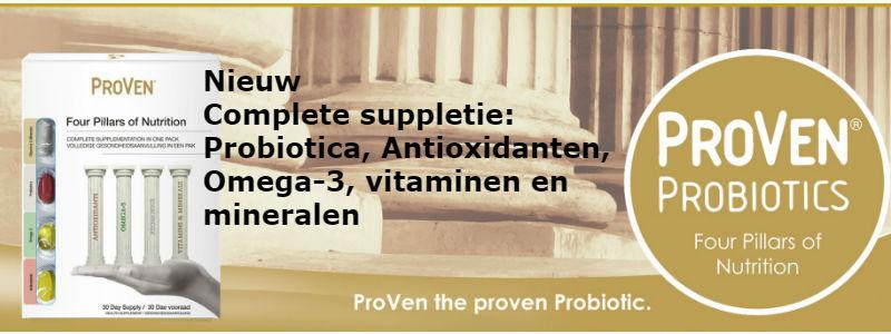probiotica, omega 3, antioxidanten, vitaminen