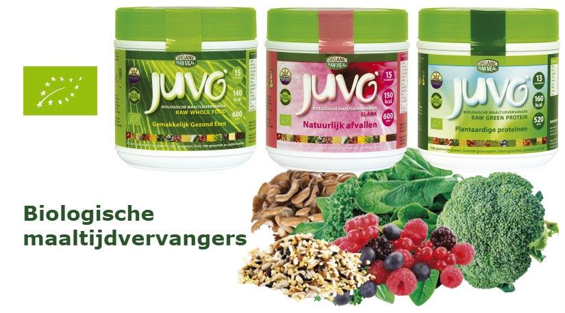 Juvo biologische maaltijdvervangers
