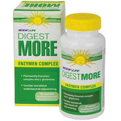 spijsvertering enzymen verteer meer digestmore enzymencomplex