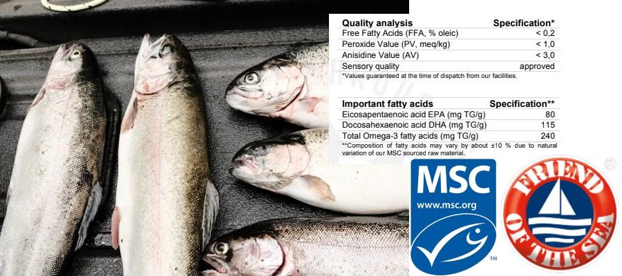 duurzame omega-3 visolie