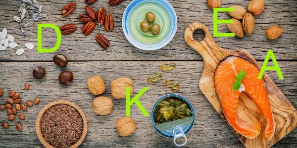 vet oplosbare vitaminen