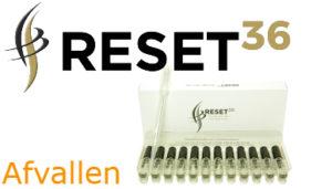Afvallen met Reset36 ampullen